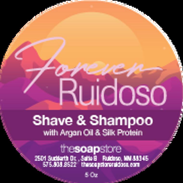 Forever Ruidoso Shave & Shampoo Soap, 5 oz.