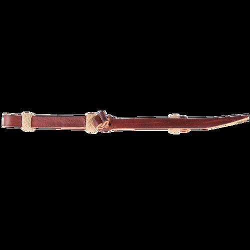 Latigo Leather with Rawhide Loops