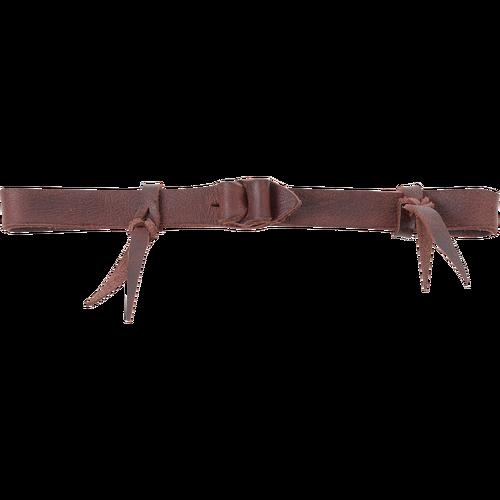 Latigo Leather Bit Hobble w/Leather Loops