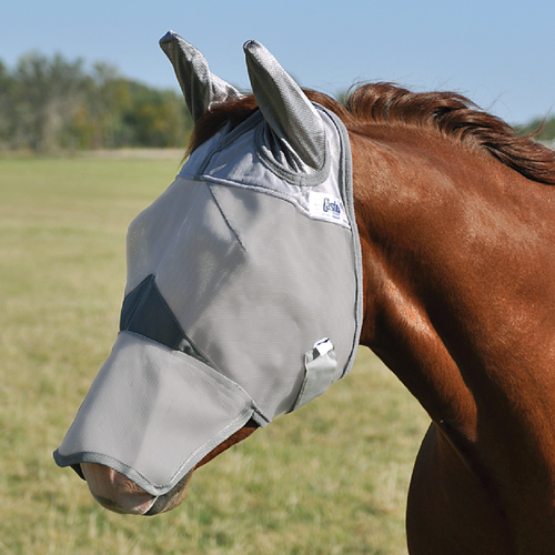 Long Nose with Ears Crusader Fly Masks