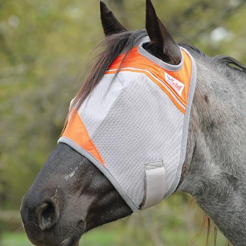 Orange Crusader Fly Masks