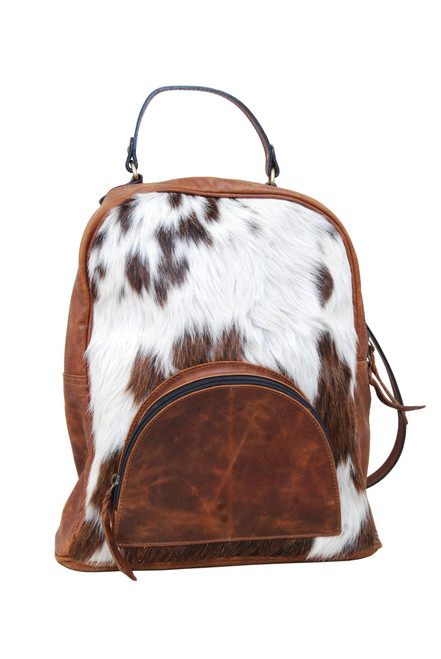 Cowhide & Leather Backpack
