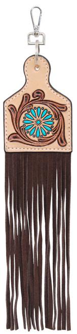 Painted Zuni Charm