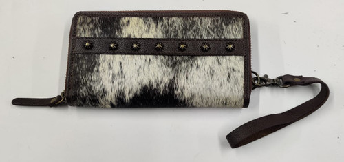 Cowtown Black Wallet