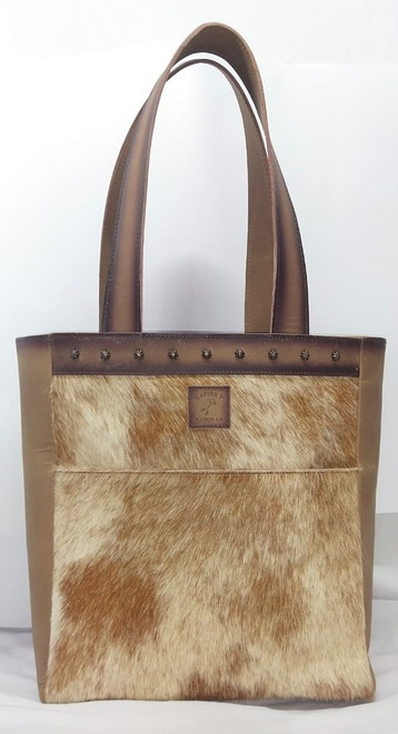 Cowtown Brown Tote