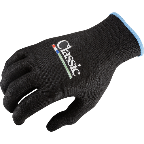 HP Classic Black Roping Gloves