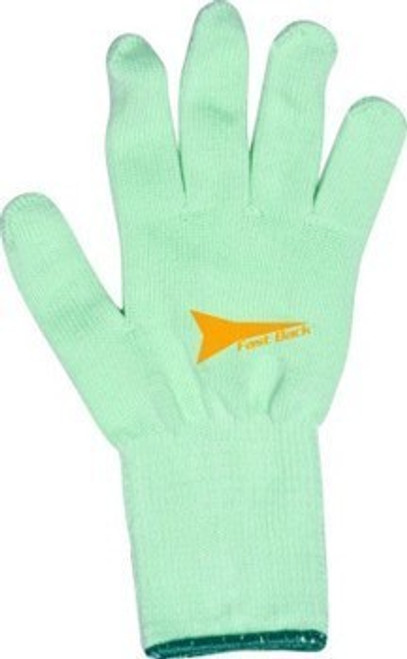 Fast Back Green Cotton Rope Gloves
