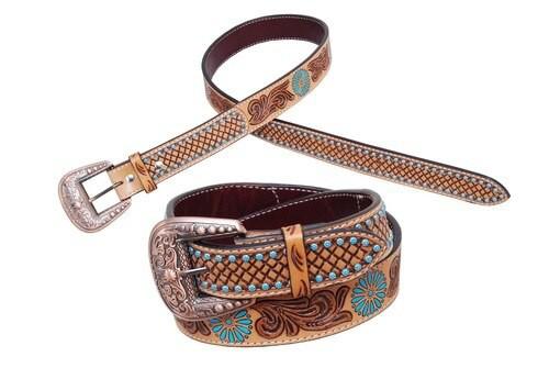 Zuni Turquoise Belt