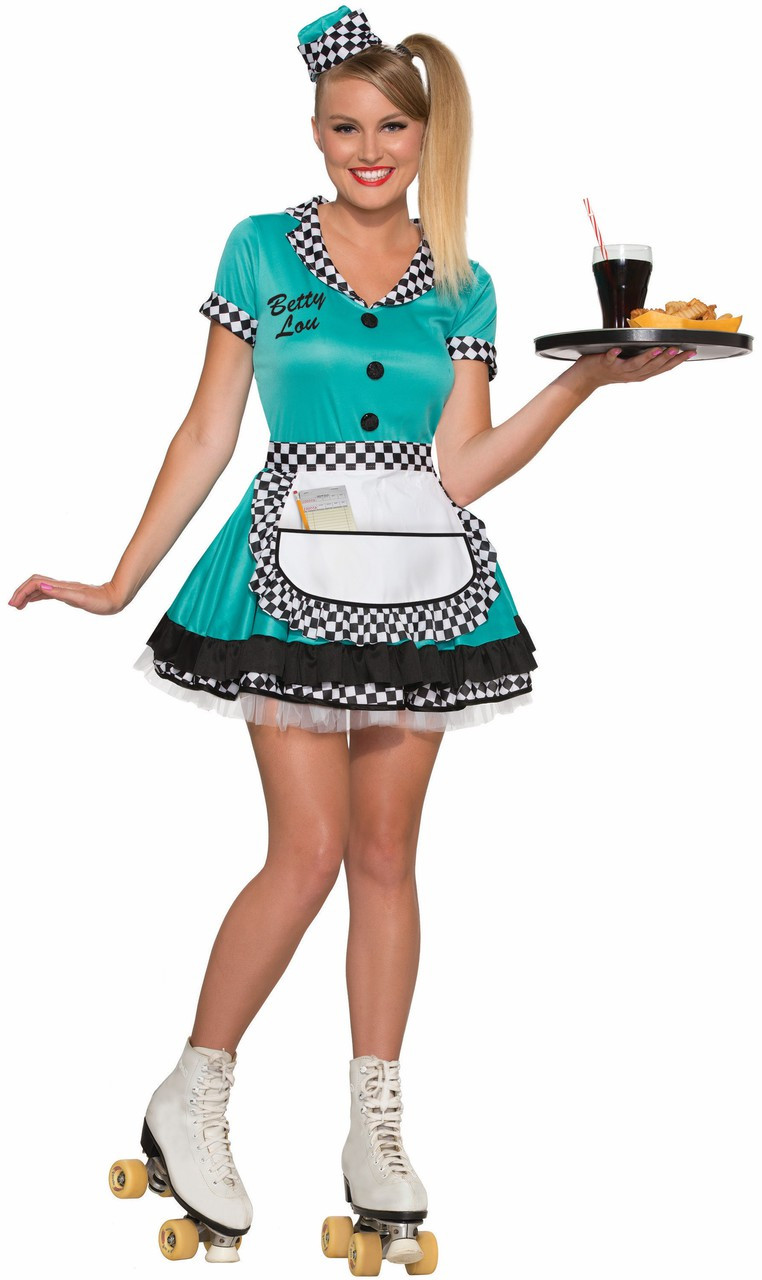 '50s Betty Lou Diner Gal Costume
