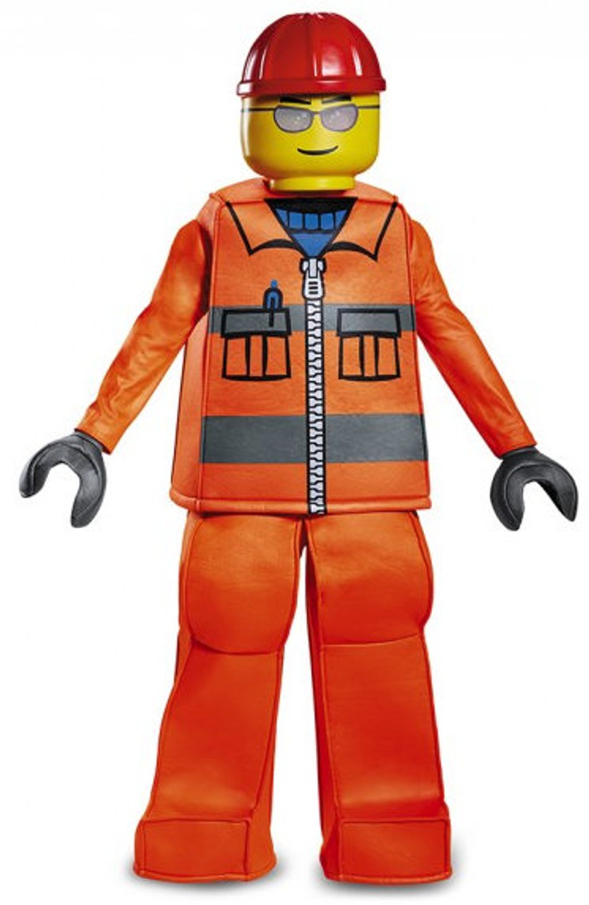 Children S Lego Construction Worker Prestige Costume The Costume Shoppe