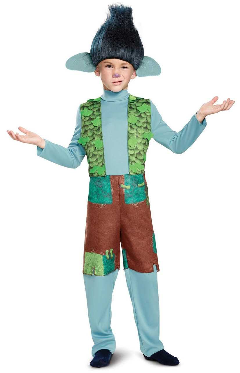 Poppy DELUXE Child Costume Dreamworks Trolls