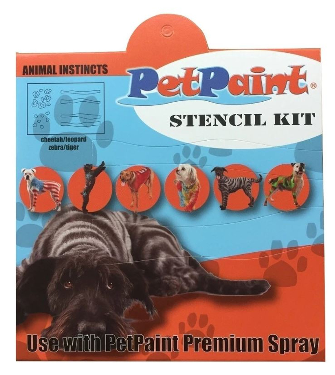 3 Animal Instincts Pet Stencils