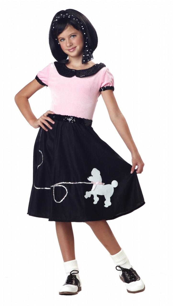 50s Children's Sock Hop/poodle Skirt Costume