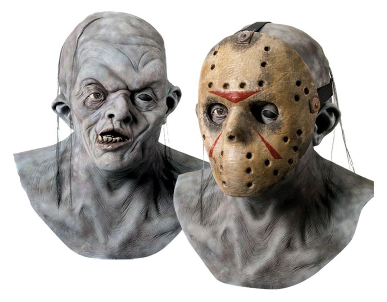 Friday the 13th Jason Voorhees Hockey Mask Foam Halloween Costume Accessory