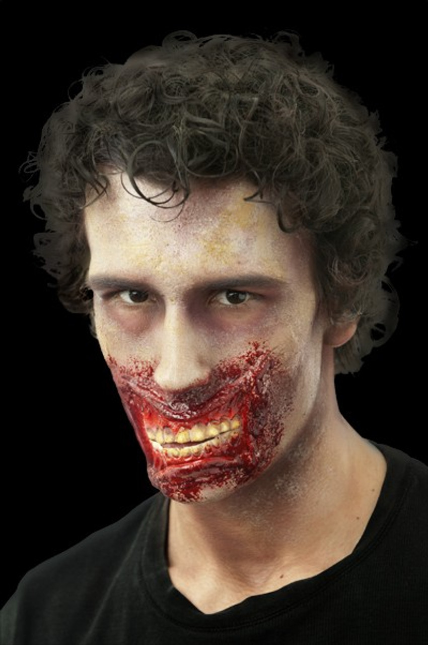 """""""chatter"""" Large Gaping Smile Fx Mouth Prosthetic"""