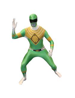 Green Power Ranger Adult Morphsuit