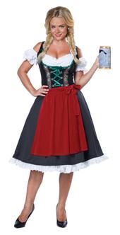 Ladies Fraulein Oktoberfest Costume