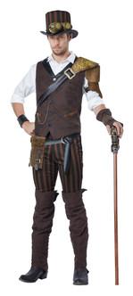 Mens Steampunk Adventurer Costume
