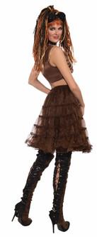 Brown Steampunk Crinoline Petticoat