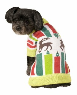 Reindeer Ugly Christmas Sweater Pet Costume