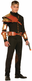 Steampunk Unisex Armour Wristbands & Accessories