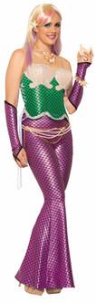 Green Mermaid Corset Top