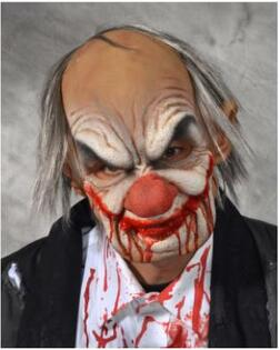 Creepy Smiley Clown Mask