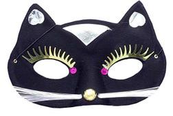 Black Pantera Cat Mask