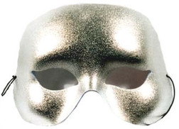 Silver Basic Party Mask