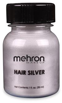 Mehron Hair Silver Colourant - 1oz
