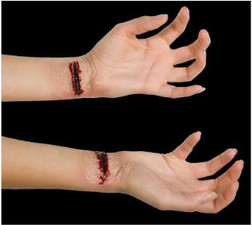 Slashed Wrist Prosthtic