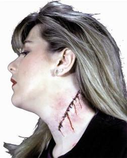 Scar Stitches Prosthetic
