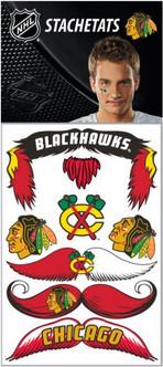 NHL Chicago Blackhawks Stachetats Tattoo