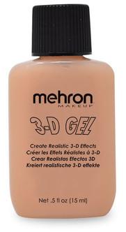 Mehron 3D Gel Flesh Gelatin Effects Makeup - 1/2oz