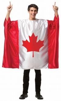 Canada Flag Tunic Costume