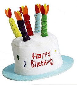 Birthday Cake Top Hat