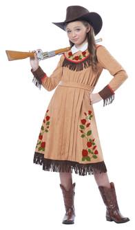 Children's Annie Oakley Cowgirl Costume