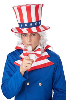 Adult Uncle Sam Wig & Goatee Set