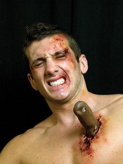Ouch Knife Handle Latex Appliance