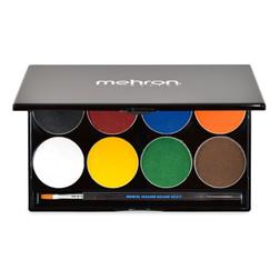 Mehron Paradise Makeup AQ™ - 8 Color Palette - Basic