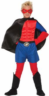 Black Super Hero Kids Boot Tops