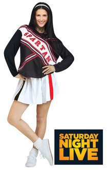 SNL Spartan Spirit Cheerleader Ladies Costume