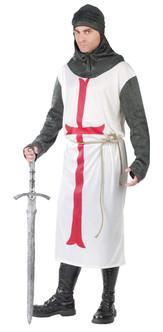 Mens Templar Knight Costume