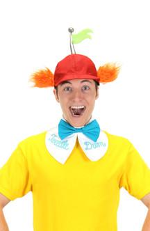 Tweedle Dee/Dum Alice in Wonderland Hat