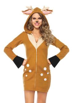 Cozy Fawn Women's Costume Dress