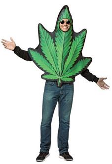 Get Real Pot Leaf Mens Costume