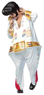 Men's Funny The King Elvis Hoopster Costume