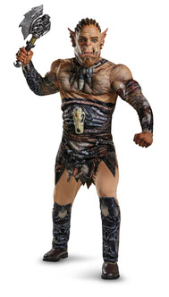 Durotan Warcraft Deluxe Muscle Chest Men's Costume