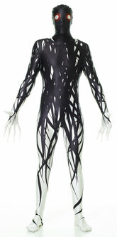 Zalgo Creepy Morphsuit Costume