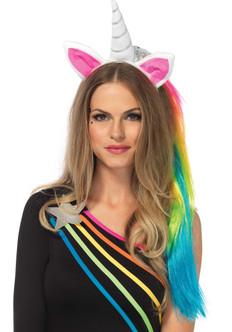Magical Rainbow Unicorn Headband
